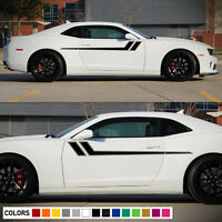 Decal Sticker Side Hood Hash Fender Stripes For Chevrolet