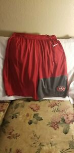 SAN FRANCISCO 49ERS PERFORMANCE SHORTS - MEDIUM - NIKE DRI-FIT
