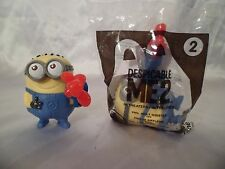 Disney *Dispicable ME* McDonals lot of 2 Phil meal toys for play or cake topper