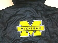 New listing VINTAGE STARTER UNIVERSITY OF MICHIGAN  WOLVERINES HOODED JACKET SIZE XL