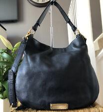 Lovely Marc By Marc Jacobs Black Pebbled Leather Shoulder Bag Handbag Multi-way