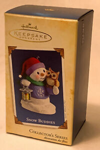 Hallmark Keepsake Snow Buddies 8th In Series Ornament 2005
