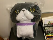 Big Chinmari Munchkin White&Black Cat Hachiware Ojiki Plush doll Grumpy