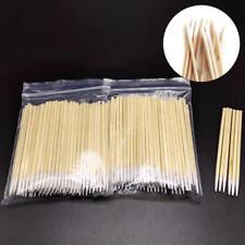 100pcs Tattoo Permanent Microblading Wood Cotton Swab Bud Cosmetics Tool Stick