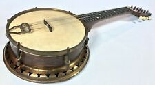 Vintage 1920's Jedson Radial 8 String Banjolele Banjo Ukulele With Resonator