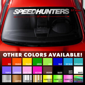 SPEEDHUNTERS DRIFT JAPAN CAR CULTURE Windshield Banner Vinyl Decal Sticker