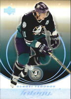 2003-04 Upper Deck Trilogy Hockey Cards Pick From List