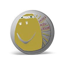 EUR 5 - MY LATVIA 2018 COIN - MANA LATVIJA CERTIF BOOKLET NL MINTAGE 4000 - BU S