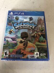 Sackboy: A Big Adventure -- Brand New Sealed  (Sony PlayStation 4, 2020)