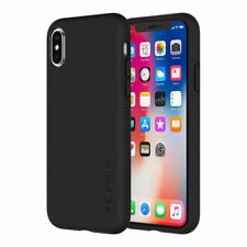 Incipio Dualpro Pure Strong Case Cover for iPhone Xs / X - Smoke Black / Clear