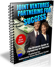 JOINT VENTURES PARTNERING FOR SUCCESS PDF EBOOK FREE SHIPPING RESALE RIGHTS