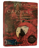 """Nick Bantock """"CAPOLAN: TRAVELS OF A VAGABOND COUNTRY"""" Artbox **Only 9 Postcards"""