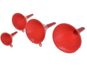 4tlg Trichter Set Einfülltrichter Fülltrichter Kunststoff Durchmesser 5,7,9,11cm