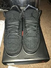watch 753a5 84e46 Nike Air Jordan Retro 3 Flyknit Nero UK 8.5 si adatta 9 NUOVO BOX    Footlocker