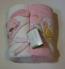 Koala Baby 2 Hooded Towels Baby Bunny and Duck New in Package 100% Cotton