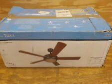 Litex E-TIT52ABZ5LKRC Titan Collection 52-Inch Ceiling Fan with Remote Control,