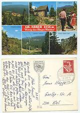 19234 - Gr. Arber - König des Bayer. Waldes - Ansichtskarte, gelaufen 8.8.1985