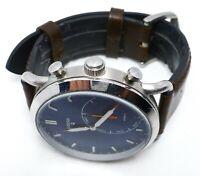 FTW1151 Fossil Commuter Men's watch Silver 42 mm Adjustable Hybrid Smartwatch