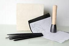 Stone Carving 'Oak Leaf'  Kit - 11 piece Full Set