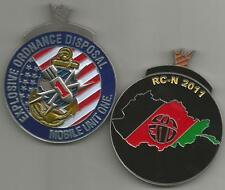 Explosive Ordnance Disposal Mobile Unit One RCN 2011 Challenge Coin