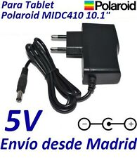 "Cargador Corriente 5V Tablet Polaroid MIDC410 10.1"" Android Tableta Adaptador"