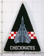 Checkmates VF-211 triangle F-14 Fighter Jet Military Attack Squadron Patch