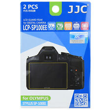 JJC LCP-SP100EE LCD Camera Screen Display Protector for OLYMPUS STYLUS SP-100EE