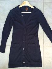 SUN68 Cardigan Donna - Blended Cashmere - Blu - Tg. S