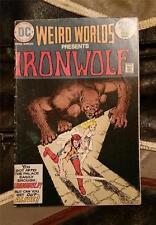 WEIRD WORLDS IRONWOLF No.9 * BRONZE AGE FEB 1974 20c DC COMICS - AFTER THE BLOND