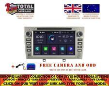 DVD GPS NAVI ANDROID 9.0 4GB 8CORE DAB CARPLAY WIFI PEUGEOT 408 308 RCZ RV5634 S