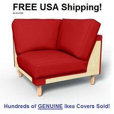Ikea NORSBORG Corner Section Cover Slipcover FINNSTA RED New SEALED!