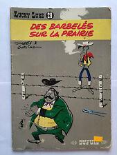 BD LUCKY LUKE N°29 DES BARBELES SUR LA PRAIRIE 1977 GOSCINNY
