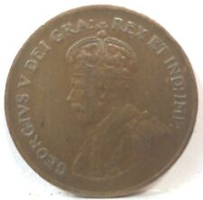 1932 Canadian One Cent Ruler: George V  KM#28  A-536