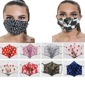 Ladies Face Mask Stylish Look Washable Reusable Protective Face Covering BEAUTY
