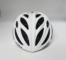 Uvex Boss Race Road Mountain Bike Bicycle Helmet White 55-60cm