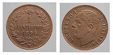 1 centesimo 1896. Cu. Con 6 Distanziato. qFDC. Umberto I