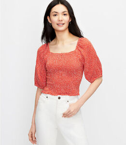 ANN TAYLOR LOFT Blouse, Size Small Petite, New Arrival, New  W/ $64.50 TAG
