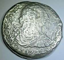 1783 Shipwreck 8 Reales Antique 1700's US Colonial Dollar Pirate Treasure Coin