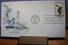 U.S. FDI Artmaster Cover Physical Fitness 100th Anniversary 5 Cent Scott #1262