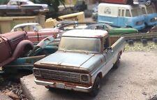 Autoart,1969 Ford pickup,custom two/tone paint,1/24,barn find, junkyard diecast