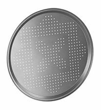 30cm Non Stick Pizza Pan Tray Vent Holes Baking Home Kitchen Round Oven Cook