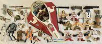 Star Wars Action Figure Lot Playskool Galactic Heroes Hasbro LFL Lightsaber Ship