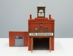 Tyco #7789B HO Scale Fire Station (Built)