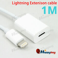 Extension Data Charger Cable for Apple iPod iPhone 7 8 Plus X XS XR iPad 4 Mini