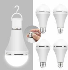 4 Pack Emergency-Rechargeable-Light-Bulb Stay Lights Up When Power Failure 12...
