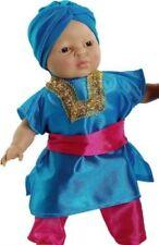 """Asiatico Indiano Hindu Sikh etnico Bambino bambole del mondo in Scatola Regalo 14"""""""