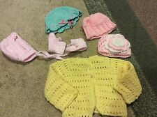 Newborn/Baby Girl Knitted Sweaters And more