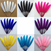 50x Collectable Color Goose Feather Lady Hats Party Craft Accessorie 7-15cm