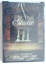 Static Iii Skateboarding Video Dvd, New, Rare, 2007