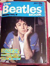 The Beatles Book Monthly Magazine No. 123 July 1986